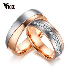 aliexpress buy vnox 2016 new wedding rings for women aliexpress buy vnox trendy aaa cz stones wedding rings for