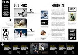 download desain majalah majalah olahraga desain template soccer match premium download