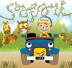 safari cartoon safari park cartoon vector vector premium download