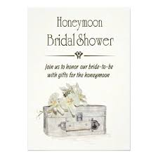 honeymoon bridal shower honeymoon bridal shower with travel bag card zazzle