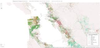 America Map San Francisco by Mapping Immigrant America A Look At The Immigrant Population In