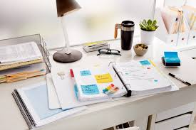 Organizing Office Desk by New Research From Post It Brand Reveals The Role Organization And