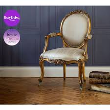 Bedroom Chairs Uk Only Versailles Damask Gold Seat Bedroom Chair