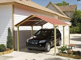 decorating side wall carport canopy in white for outdoor portable carport canopy with gabled roof for outdoor decoration ideas