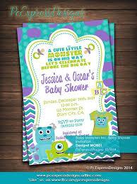 monsters inc baby shower ideas artfire markets