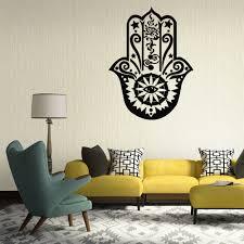 namaste home decor yoga mandala om indian buddha namaste quote wall decal home decor