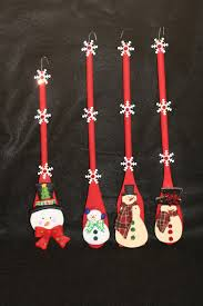 snowman spoons brushes spoons pinterest vianoce