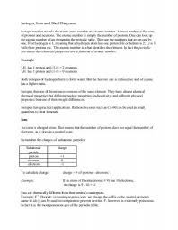 all worksheets atoms ions and isotopes worksheet answers free