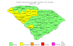 county map of sc south carolina state climatology office