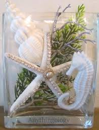 Seashell Centerpieces For Weddings by White Seashell Starfish Centerpiece It Lights Up By