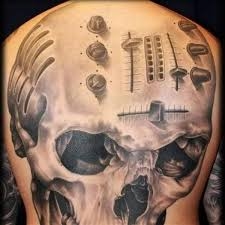 tattoos for skull on back ideas pictures