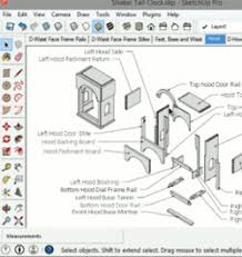 how to navigate sketchup woodworking models
