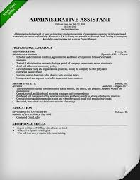 Best Administrative Resume by Best Administrative Assistant Resume Templates U2013 Resume Template