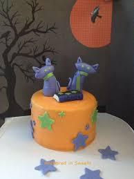 halloween cats u0027 cake halloween baking cake fondant and