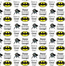 batman gift wrap lego batman gift wrap wrapping paper ebay