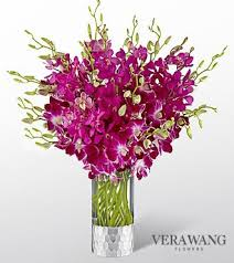 orchid bouquet the ftd orchid bouquet by vera wang vase included
