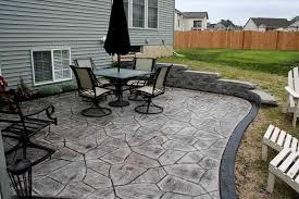 Stamped Concrete Patio Prices by Concrete Patio Cost Per Square Foot Miamitraveler