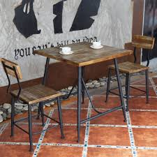 wood and wrought iron table american casual home to do the old wrought iron wood furniture