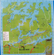Map Of Charlotte Queen Charlotte Sound A20 Nz Frenzy South Island New Zealand