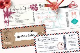 boarding pass wedding invitations boarding pass wedding invitations with detachable rsvp cards