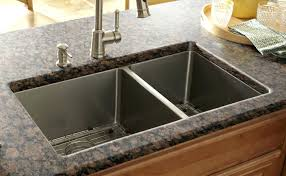 trough sink with 2 faucets trough sink kitchen undermount sinks reaching quiet concrete
