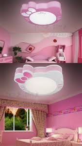 sale acrylic cilling lamp pink hello kitty kids led ceiling