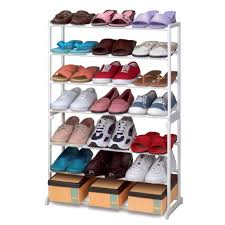 interior cool covered shoe rack ideas to make your hallway