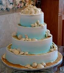 wedding cakes designs beach themed decorating of party