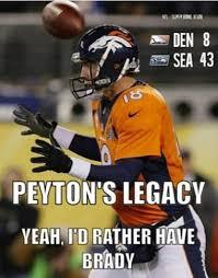 Peyton Manning Super Bowl Meme - a funny meme about peyton manning patriots gab