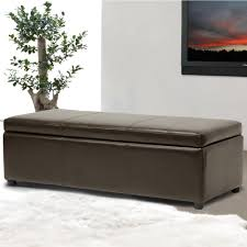 Storage Ottoman Coffee Table Ottomans Living Room Furniture The Home Depot
