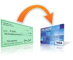 direct deposit card readydebit direct deposit