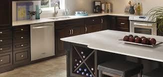 espresso kitchen cabinets with white quartz countertops espresso kitchen bath countertops granite quartz more