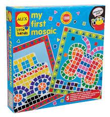 amazon com alex toys little hands my first mosaic toys u0026 games