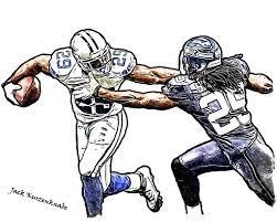 dallas cowboys demarco murray seattle seahawks richard sherman