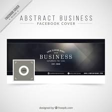 Facebook Logo For Business Card Elegant Abstract Facebook Cover For Business Vector Free Download