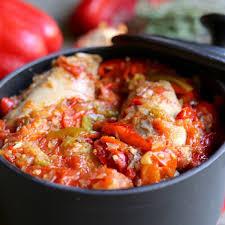 cuisine poulet basquaise youmiam poulet basquaise