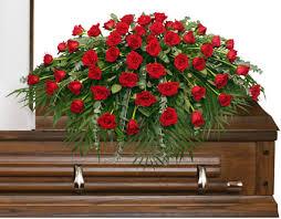 greenville florist majestic casket spray of funeral flowers in greenville sc s