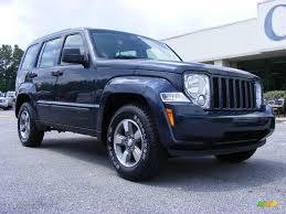 silver jeep liberty 2008 2008 modern blue pearl jeep liberty sport 14791294 photo 2