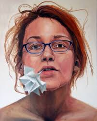 first painted self portrait by sugarharris