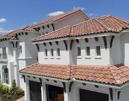 Mediterranean Roof Tile Interlocking Roof Tile Concrete Traditional Look Large