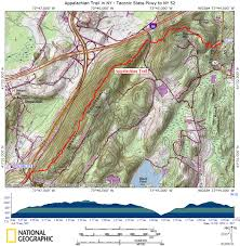 New York Appalachian Trail Map by At In Ny Hosner Mountain