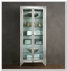 white glass storage cabinet glass storage cabinets with doors home design ideas inspirations 8