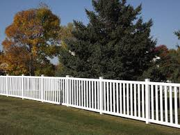 vinyl picket fence in st paul lakeville twin cities woodbury
