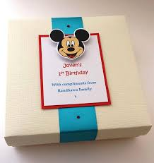 indian wedding mithai boxes micky mithai box for a baby s 1st birthday fill with favourite