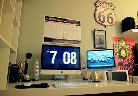 mac setup a vintage inspired workstation