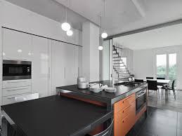 ilot central cuisine contemporaine cuisine ouverte avec îlot central 58 sublimes modèles d aménagement