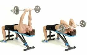 Bench Press Wide Or Narrow Grip How To Do The Ez Bar Press Men U0027s Health