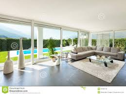 Interior Beautiful Living Room Stock Photo Image - Beautiful living rooms designs