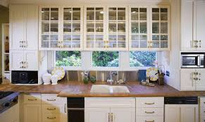 white kitchen cabinet with glass doors kitchen cabinet styles to