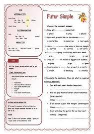 603 free esl future tenses worksheets